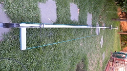 11 m Band J-Pole antenna centred at 27.500 MHz: Ready to install
