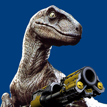 Get you some of that, Bad-ass Raptor