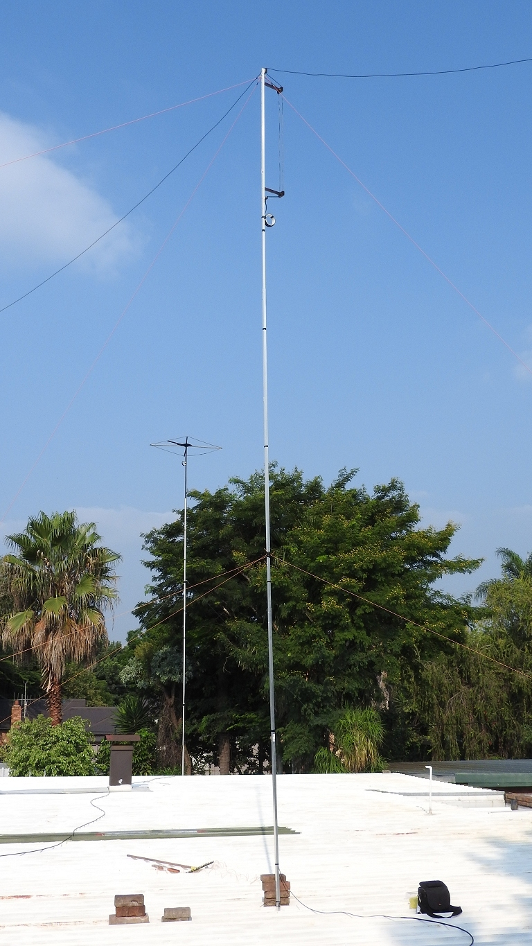 11 m Band Extended Double Zeppelin 'Zepp' (EDZ) MkII antenna centred at 27.500 MHz